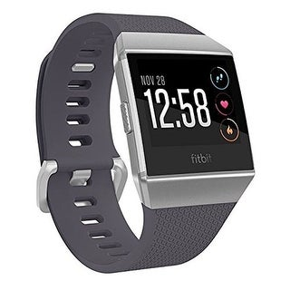 Fitbit Ionic Smartwatch (Blue/Silver Gray/ One Size)
