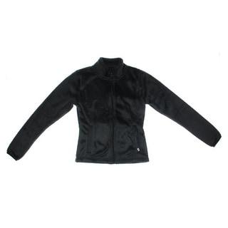 Soffe Womens Juniors Angel Fleece Zip Front Jacket - XS