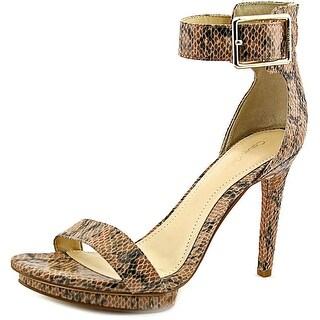 Calvin Klein Vivian Open Toe Leather Sandals