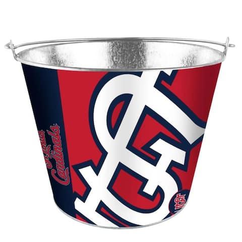 St. Louis Cardinals Bucket 5 Quart Hype Design - 5 Quart