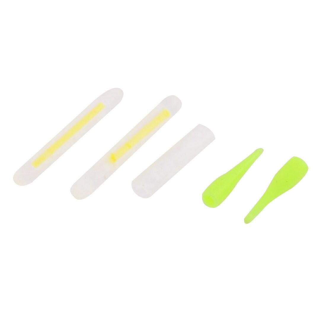Unique Bargains 10 Pcs Luminous Sticks Fishing Floaters Bobbers 24mm Long