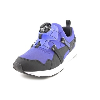 Puma Disc Chrome Women  Round Toe Synthetic Blue Sneakers