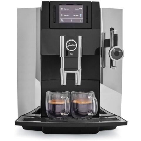 Jura E8 Espresso Coffee Machine,chrome