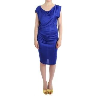 Costume National Blue assymetric dress - it44-l