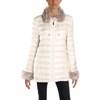 Via Spiga Womens Puffer Coat Winter Down