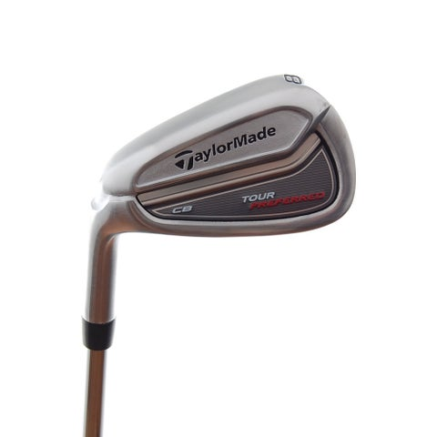 New TaylorMade Tour Preferred CB 8-Iron DG Pro R300 R-Flex Steel LEFT HANDED