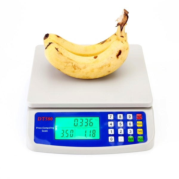 30kg/1g Digital Vegetables Scale White. Opens flyout.