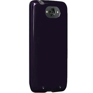 Verizon High Gloss Silicone Case for Motorola Droid Turbo - Plum Purple