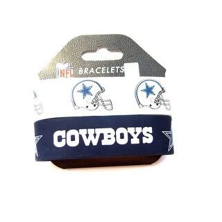 Dallas Cowboys Rubber Wrist Band Set