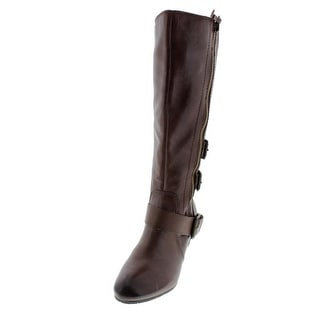Naya Womens Frankie Riding Boots Leather Knee-High