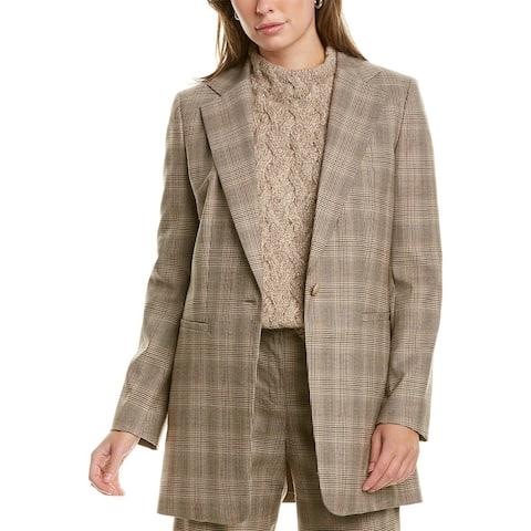 Lafayette 148 New York Beau Wool-Blend Blazer