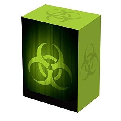 Legion SUPER Iconic BIOHAZARD Contagion GREEN DECK BOX (fits Magic / MTG, Pokemon Cards)