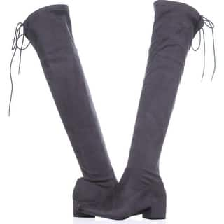 51c28c3a9af Chinese Laundry Womens Mystical Suede Closed Toe Knee High Fashion Boots