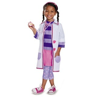 Deluxe Doc Mcstuffins Girls Costume