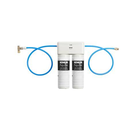 Kohler K-77686 Aquifer Double Cartridge Water Filtration System