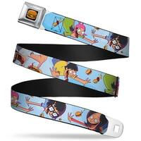 Hamburger Full Color Black Bob's Burgers Issue #2 Cover Pose Falling Seatbelt Belt