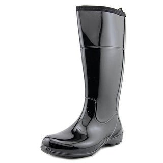 Kamik Ellie Women  Round Toe Synthetic Black Rain Boot