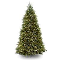 10' Pre-Lit Dunhill Fir Artificial Christmas Tree - Clear Lights - Green