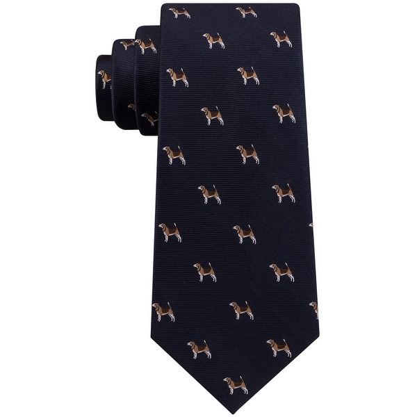 Club Room Mens Hunting Dog Self-Tied Necktie - One Size. Opens flyout.