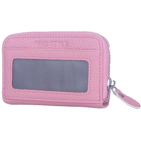 Mad Style Pink Rfid Blocking Wallet