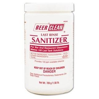 DVO 25 oz Container Powder Beer Clean Last Rinse Glass Sanitizer