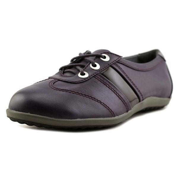 Blondo Mao Women Round Toe Leather Purple Oxford