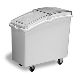 Continental Commercial 9321 Mobile Ingredient Bin, 21 Gallon, White