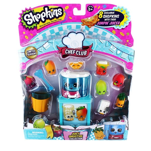 Shopkins Season 6 Chef Club Themed Set Juice - multi