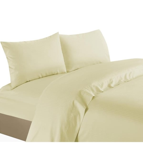 1200 Thread Count Egyptian Cotton Choose Bedding Item US Sizes Burgundy Striped