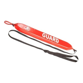 "40"" Red Super Soft Swimming Pool or Water Guard Rescue Tube"
