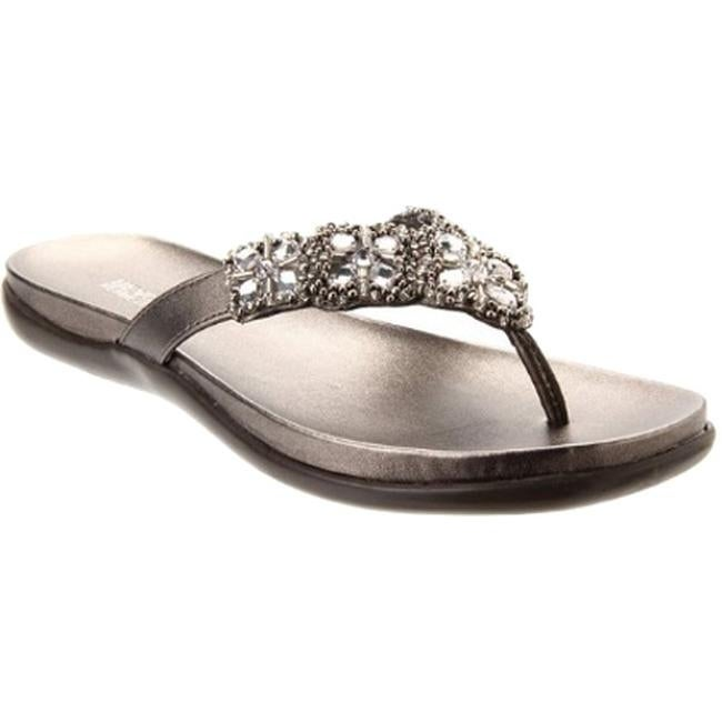 1856a7d70654 Shop Kenneth Cole Reaction Women s Glam-Athon Sandal Pewter Metallic - On  Sale - Free Shipping On Orders Over  45 - Overstock - 11791096