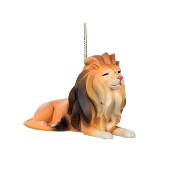 "2.25"" Lion Zoo Animal Decorative Christmas Ornament"