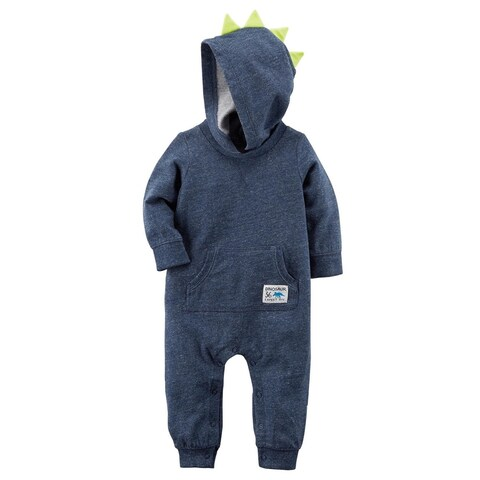 Carter's Baby Boys' Spike Jumpsuit, 24 Months