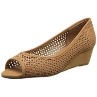 French Sole FS/NY Women's Necessary Wedge Pump - 9.5