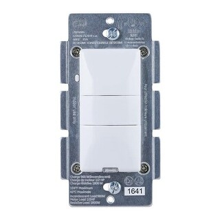Jasco Products JA26931 GE Z-Wave Plus Motion Sensor On-Off Wall Switch