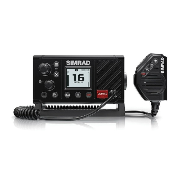 Simrad RS20 VHF Marine Radio With High Visibility LCD w/ Inverted Night Mode