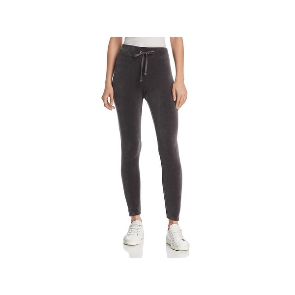 73ce8516fbb95 Shop Juicy Couture Black Label Womens Wildstyle Leggings Velour High ...
