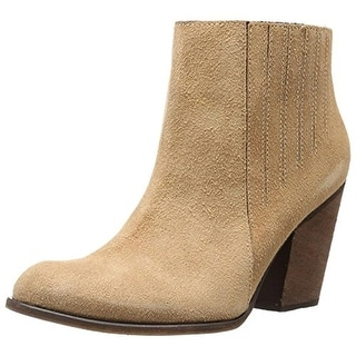 KAANAS Womens Ankle Boots Suede - 10 medium (b,m)