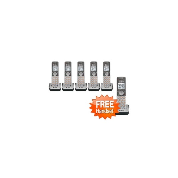 AT&T CL80101 (5-Pack) + 1 Free 1.9GHZ Cordless Extension Handset