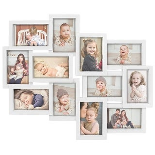 Hello Laura Designs Family Rules Dimensional Collage Picture Frame