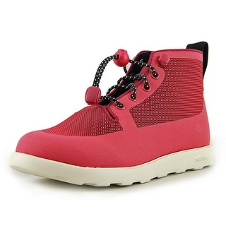 Native Fitzroy Junior Youth Round Toe Canvas Red Boot