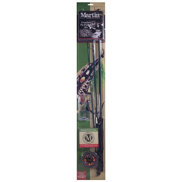 Zebco Martin Complete Fly Fishing Kit W/6#