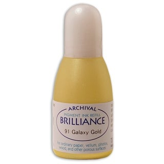 Brilliance Ink Refill .7Oz-Galaxy Gold