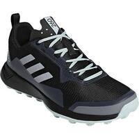 adidas Women's Terrex CMTK Trail Shoe Black/Chalk White/Ash Green