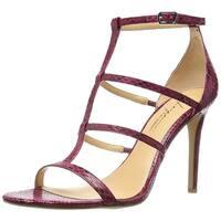 Daya by Zendaya Womens Myra Open Toe Bridal Ankle Strap Sandals