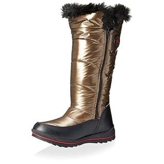 Cougar Womens Snow Boots Faux Fur Waterproof - 6 medium (b,m)