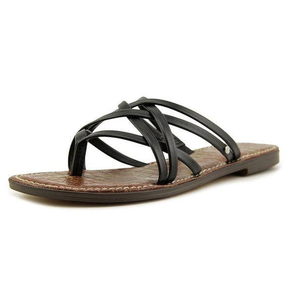 71a945c1dccd Sam Edelman Georgette Women Blk Atanado Sandals - Free Shipping On ...