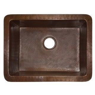 "Native Trails CPS79 Cocina 24"" Single Basin Undermount Kitchen Sink"