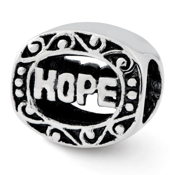 Sterling Silver Reflections Hope Bead (4mm Diameter Hole)