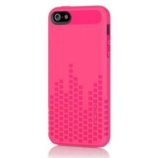 Incipio Frequency Textured Impact Resistant Case for Apple iPhone 5 (Pink)